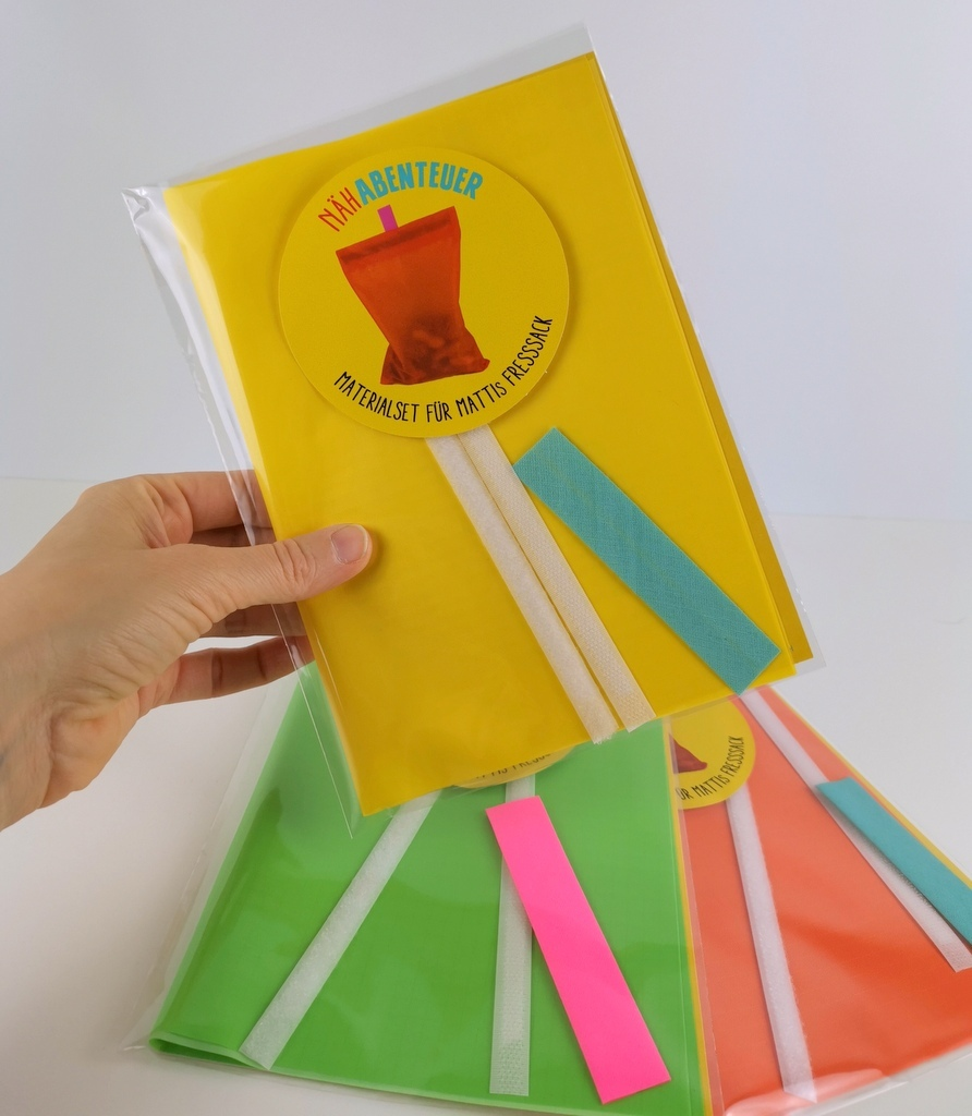 Materialset: Der Fresssack - gelb